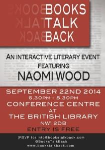 Books Talk Back - Flyer - September 2014