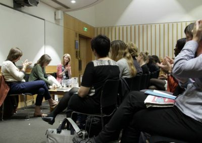 British Library - September 22nd 2014 with Naomi Wood 1