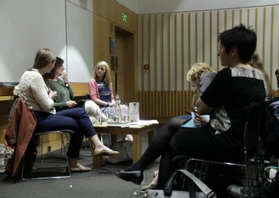 British Library - September 22nd 2014 with Naomi Wood 2