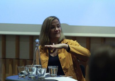 Tracey Chevalier - Sept 21st at The British Library - 3