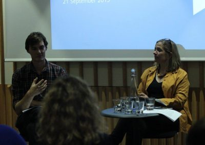Tracey Chevalier - Sept 21st at The British Library - 4