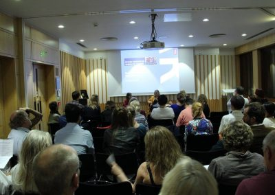 Tracey Chevalier - Sept 21st at The British Library - 6