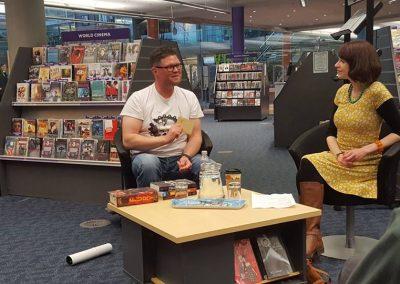 Norfolk and Norwich Millennium Library With Alexander Gordon Smith