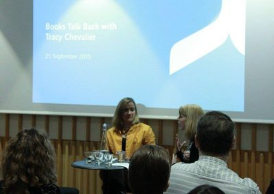 Tracey Chevalier - Sept 21st at The British Library - 20